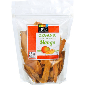 365 Everyday Value, Dried Mangoes, Organic - 8 oz (227 g)