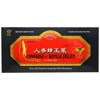 Imperial Elixir, Ginseng and Royal Jelly, 30 Bottles - 0.34 fl oz (10 ml) Each