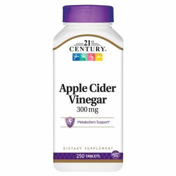 21st Century, Apple Cider Vinegar, 300 mg - 250 Tablets