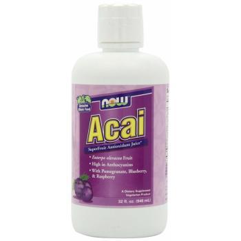 Now Foods, Acai SuperFruit Juice - 32 fl oz (946 ml)