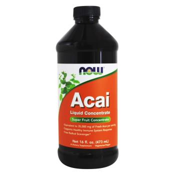 Now Foods, Acai Liquid Concentrate - 16 fl oz (473 ml)