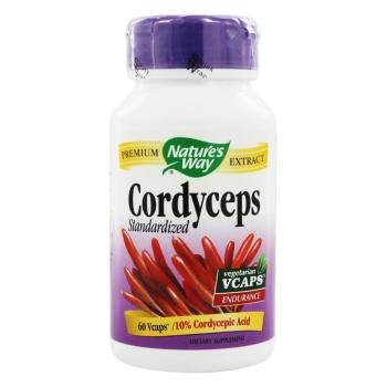 Nature's Way, Cordyceps, 1000 mg - 60 Vegetarian Capsules