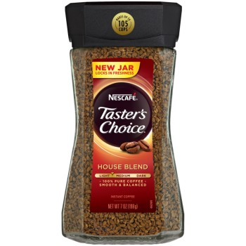 Nescafé, Taster's Choice, Instant Coffee, House Blend - 7 oz (198 g)