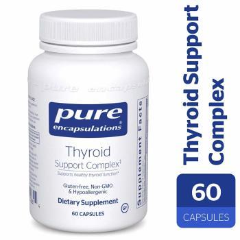 Pure Encapsulations, Thyroid Support Complex - 60 Capsules
