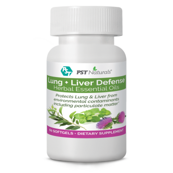 PST Naturals, Lungs & Liver Defense From Environmental Contaminants - 60 Softgel