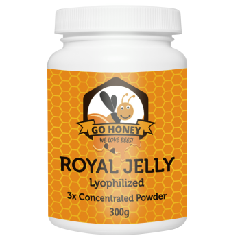 Honey Good, Natural Royal Jelly Lyophilized 3 x Concentrated Powder - 10.58 oz. (300 g)