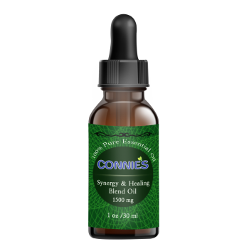 Connie's Labs, Synergy & Healing Blend Oil, 1500 mg - 1 oz. (30 ml)