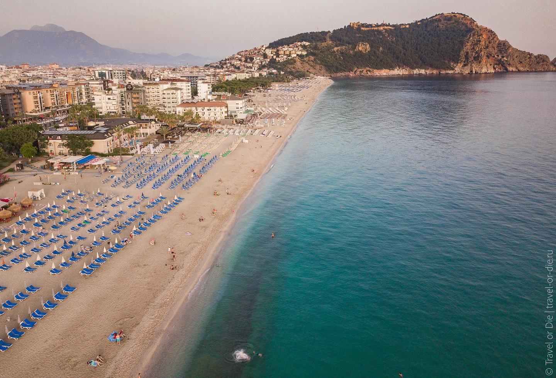 Фото пляж клеопатра