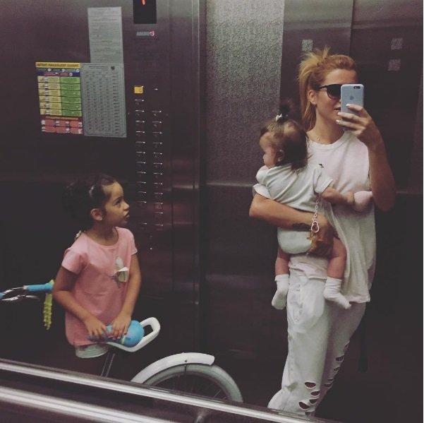 Бородина инстаграм дочери