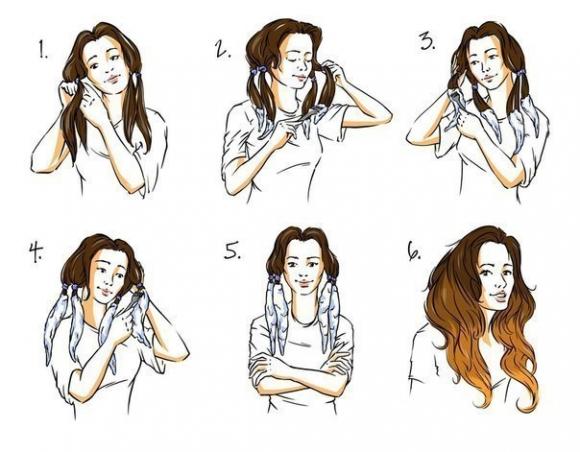 Как покрасить длинные волосы самостоятельно