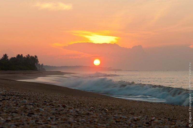 Шри ланка самый красивый пляж