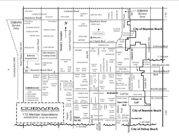 COBWRA Map Revised  August 2016