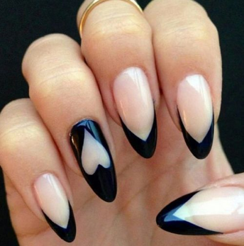 Pictures of almond shaped nails