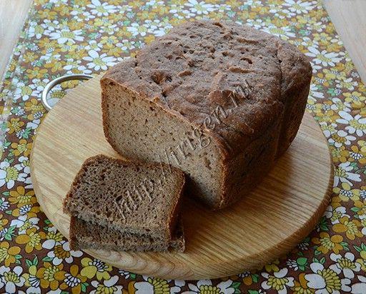 Ржаной хлеб из закваски в хлебопечке