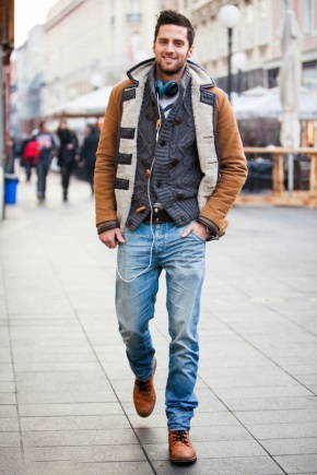 Свободный стиль одежды для мужчин