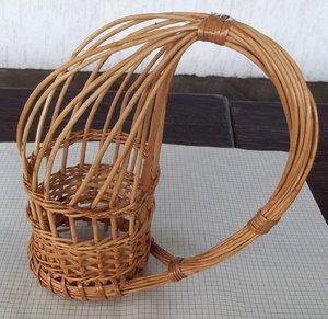 Заготовка лозы для плетения корзин