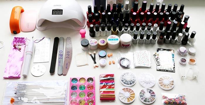 Список что необходимо для наращивания ногтей гелем