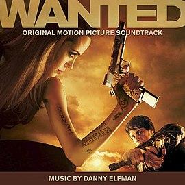 Обложка альбома к фильму «Особо опасен» «Wanted: Original Motion Picture Soundtrack» ()