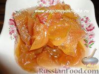 Фото к рецепту: Варенье из яблок дольками