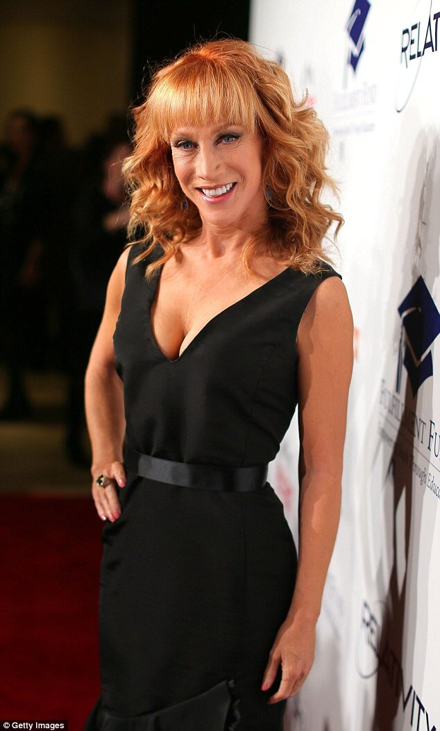 Kathy Griffin hot cleavage