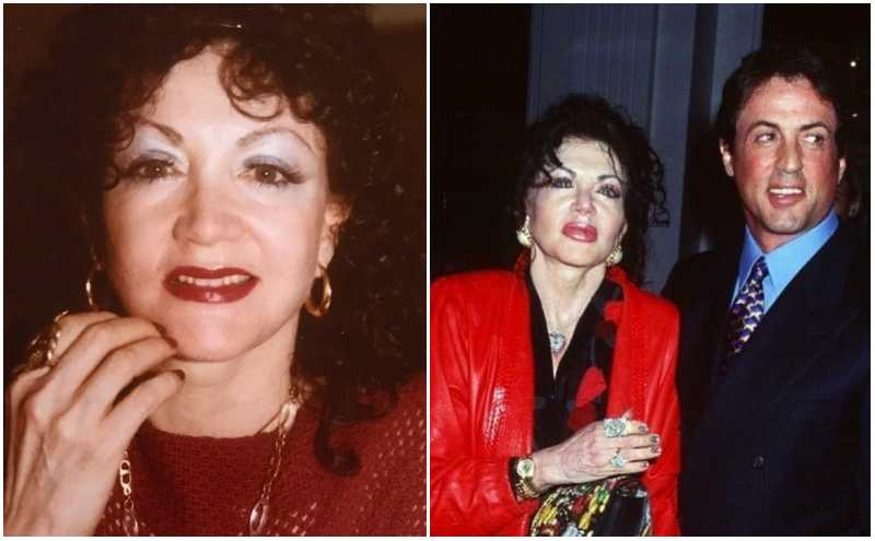 Sylvester Stallone's family - mother Jackie Stallone
