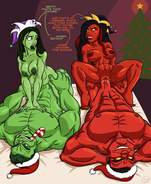 Халк женщина секс и халк
