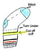 sock-dog-ipod-holder-craft-diagram