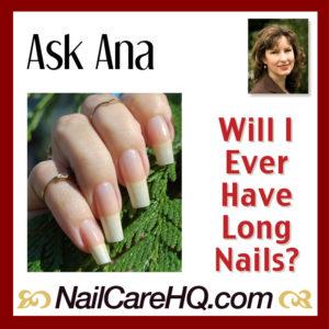 Long nails care