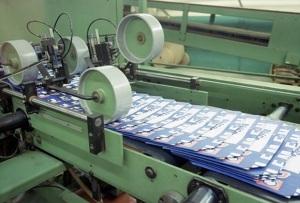 Станок для производства бумажных пакетов