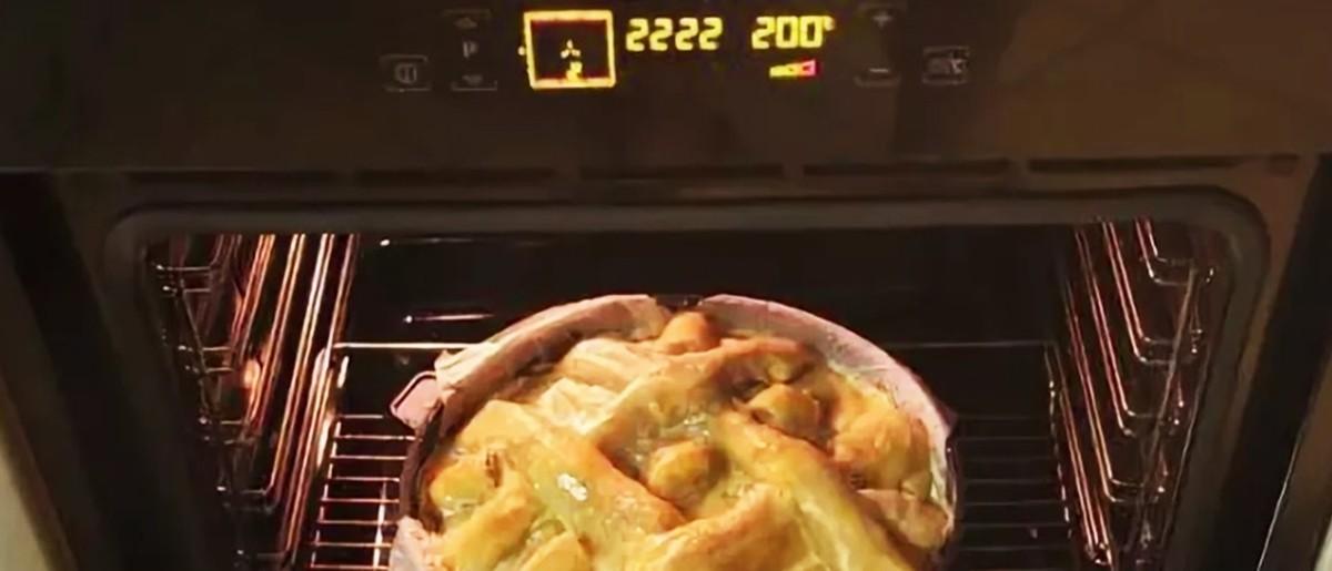 Сколько пирог готовится в духовке