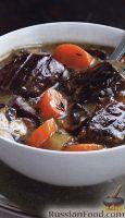 Фото к рецепту: Овощное рагу с говядиной в янтарном пиве