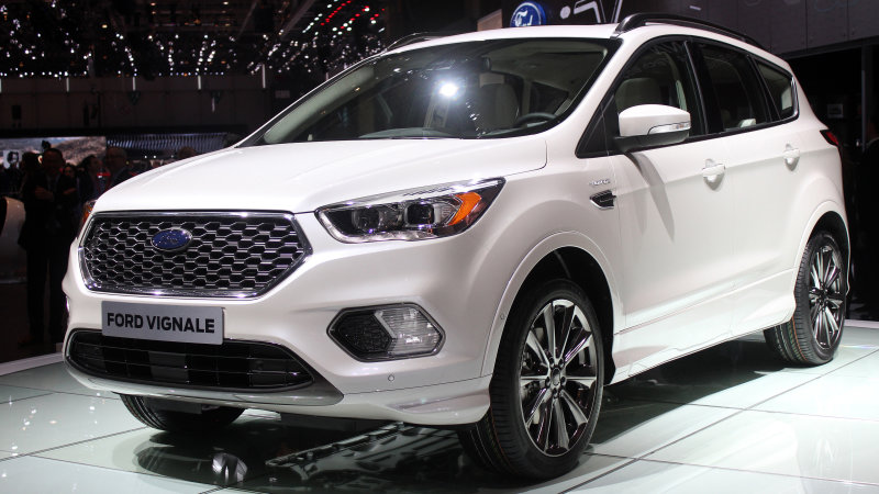 Ford Kuga Vignale Concept escapes to higher ground