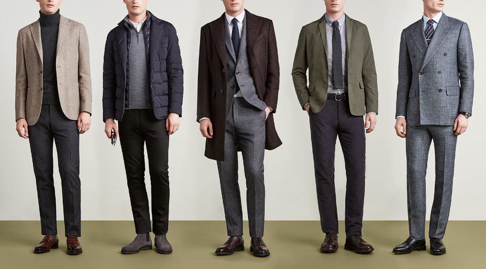 Офисный стиль одежды для мужчин фото