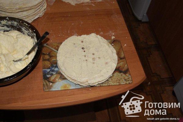"Торт ""Наполеон"" (на сковороде) фото к рецепту 5"