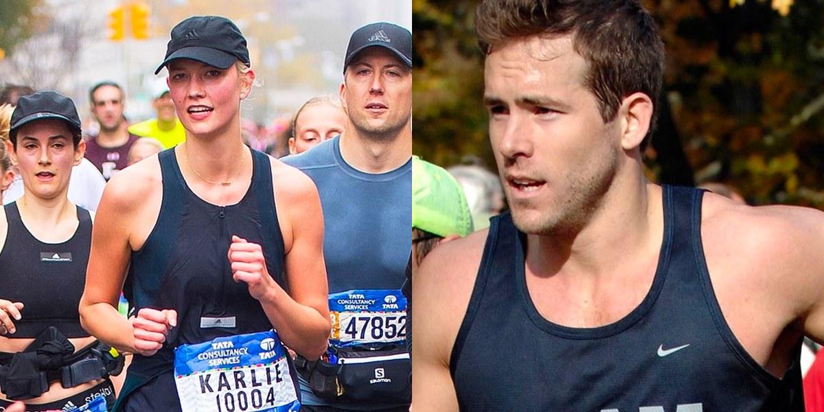 New york marathon celebrities 2010