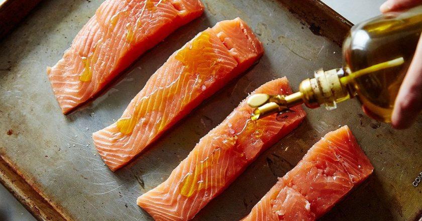 Рецепт приготовления лосося в фольге в духовке