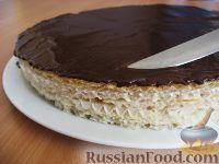 Торт из вафель и сгущенки