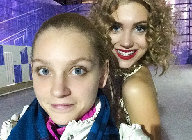 Карина с Кристиной