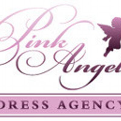Pink angels dress agency