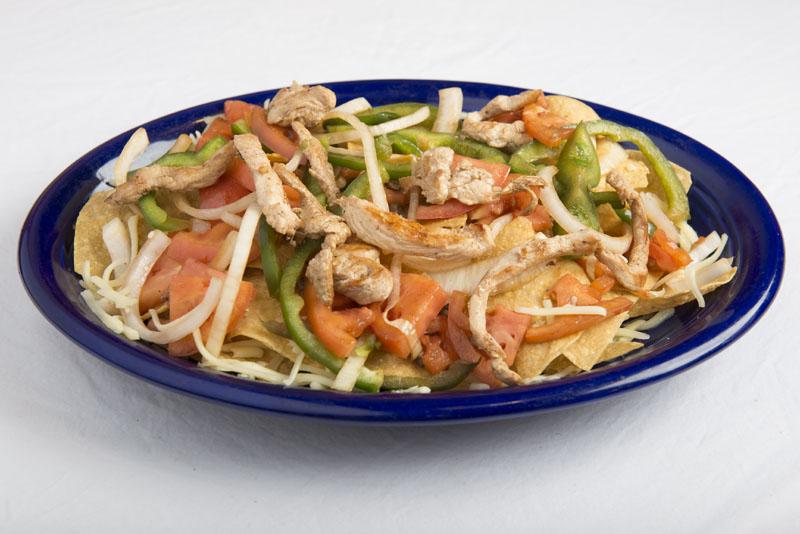 Fajitas Chicken Nachos