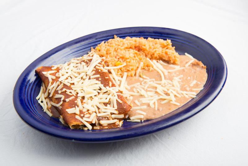 6. Enchilada and Tamal