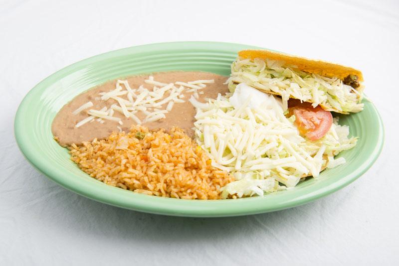 8. Tostada and Taco