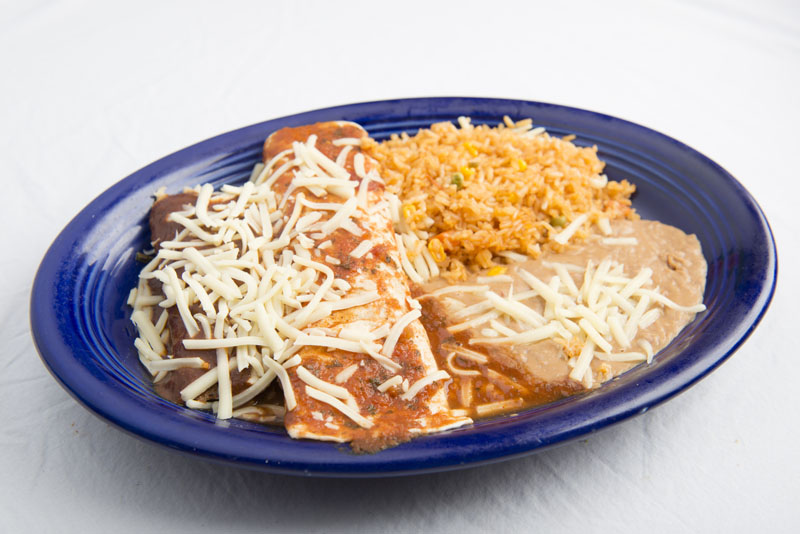 7. Tamal and Burrito