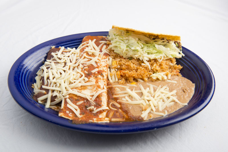 14. Burrito, Taco and Tamal