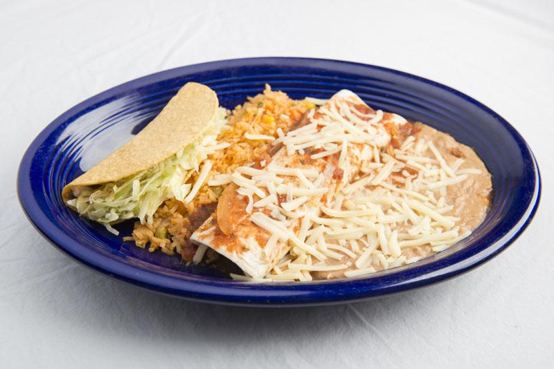 9. Burrito and taco