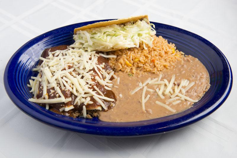 13. Enchilada, Tamal and Taco
