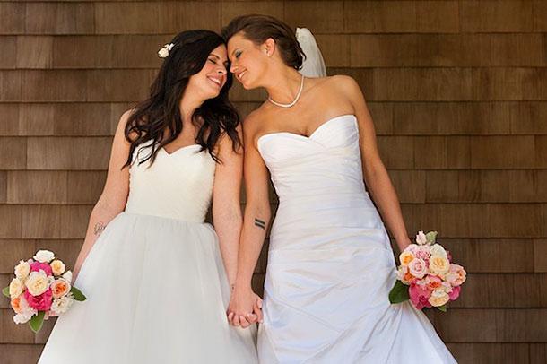 Недавно Ким Штольц женилась на своей давней подруге