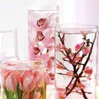 Как сделать в глицерине цветы