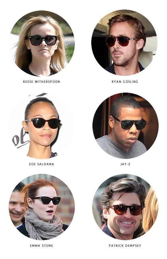 Persol celebrities