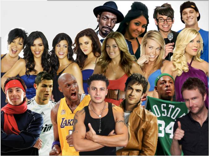 Celebrities available for hire